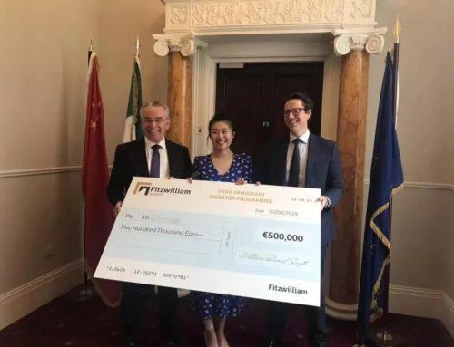 热烈庆祝:华人咨询中心首批菲茨威廉投资移民项目客户今日返还投资款!