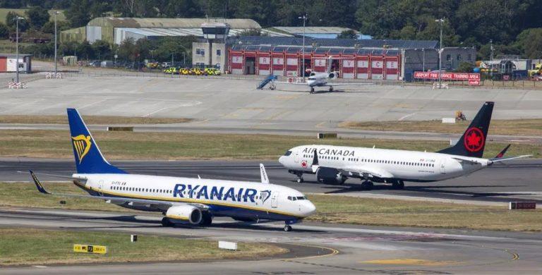 瑞安航空计划从7月1日起恢复40%的航班