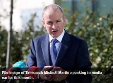 爱尔兰总理:将毫不犹豫地采取病毒控制措施